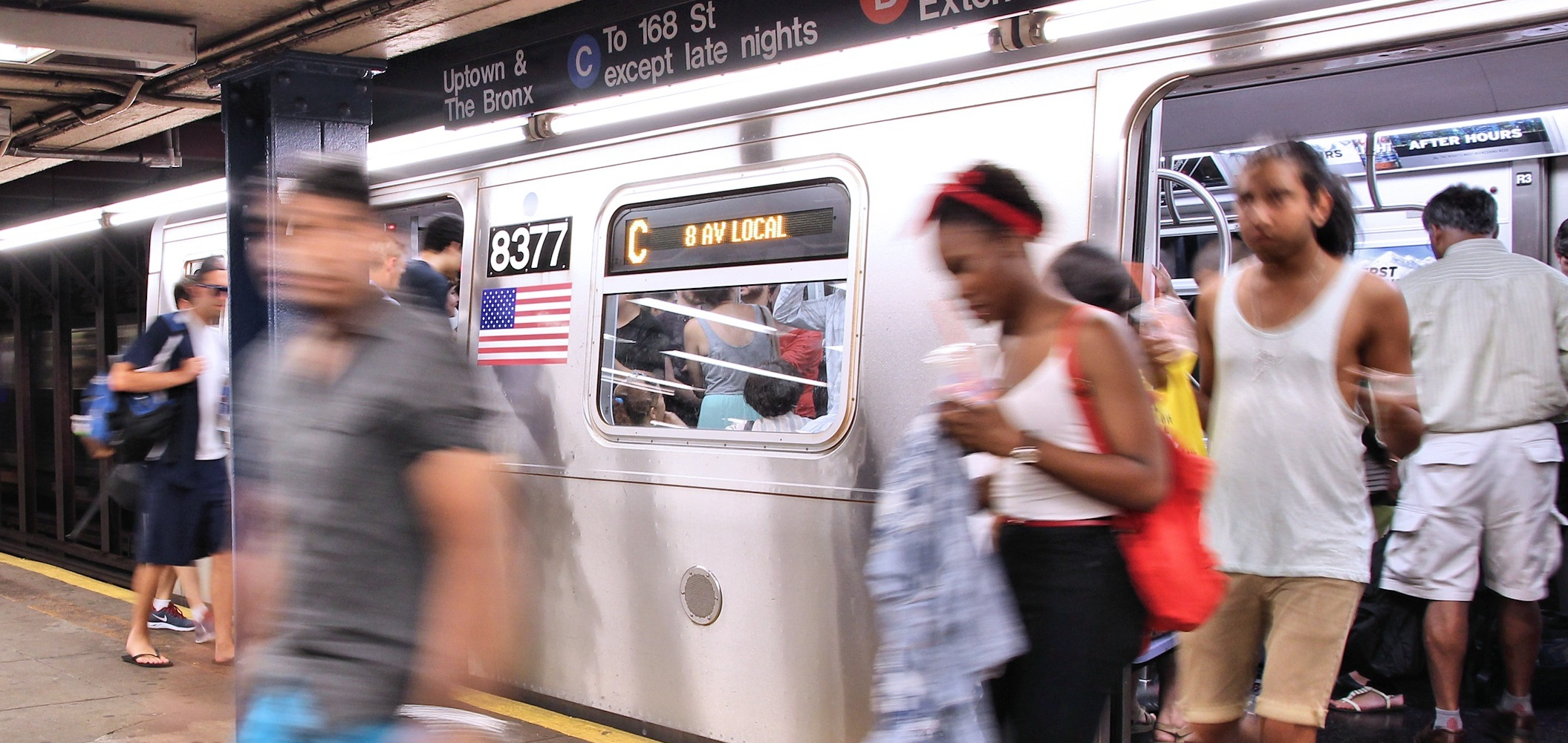 International research on NY commuting times highlights inequity
